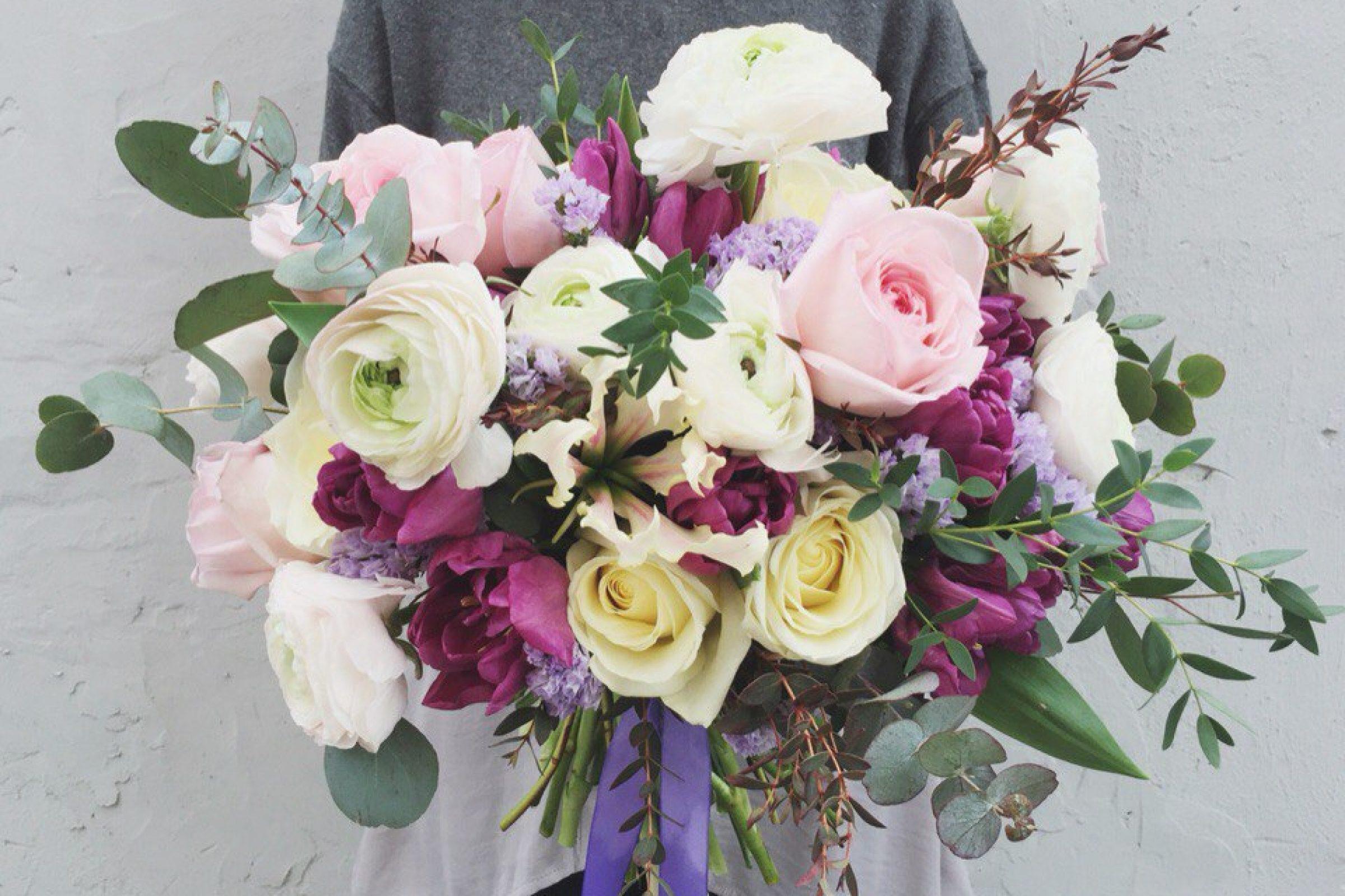 Шикарный летний букет oh my flowers